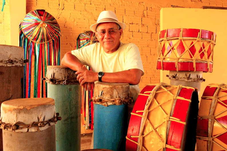 O percussionista, cantor e compositor maranhense Papete