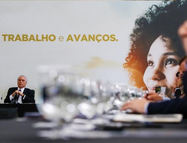 12.mai.2017 - O presidente, Michel Temer (PMDB)