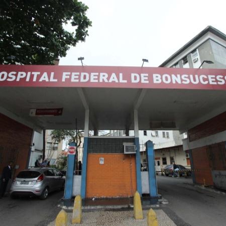 Hospital Federal de Bonsucesso, na zona norte do Rio - José Lucena/Futurapress/Estadão Conteúdo