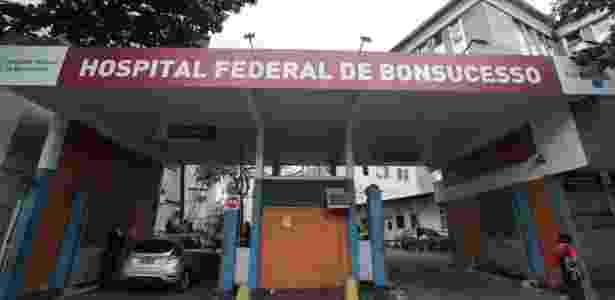 Fachada do Hospital Federal de Bonsucesso, no Rio de Janeiro - José Lucena/Futurapress/Estadão Conteúdo