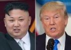 Tensão: Coreia do Norte e EUA aumentam os rumores de uma possível guerra - AFP