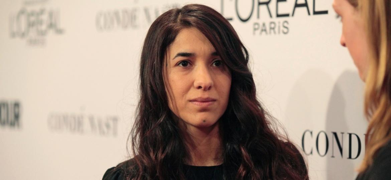 A ativista Nadia Murad - ELIZABETH LIPPMAN/NYT
