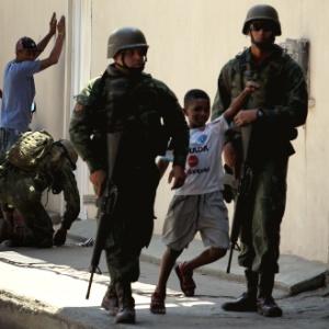 Operação de tropas federais no Rio de Janeiro - WILTON JUNIOR/ESTADÃO CONTEÚDO