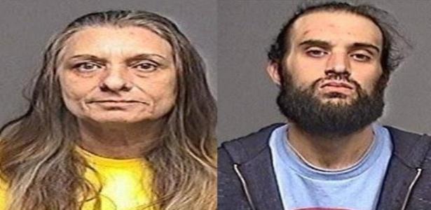 A mulher inventou a história para seu filho roubar o mercado - Reprodução/Facebook Egg Harbor Township Police Department