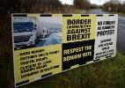 Como a fronteira irlandesa se tornou o maior obstáculo para o Brexit - CLODAGH KILCOYNE/REUTERS