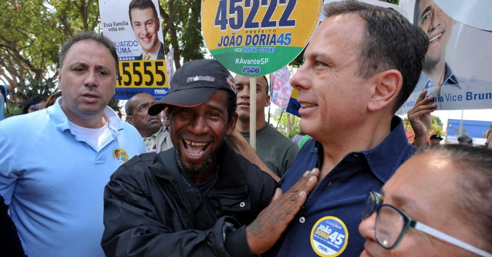 """21.set.2016 - """"Serei prefeito por quatro anos e sem reeleição. Não há necessidade. Deixar oportunidade para outras pessoas, oxigenar o partido."""""""