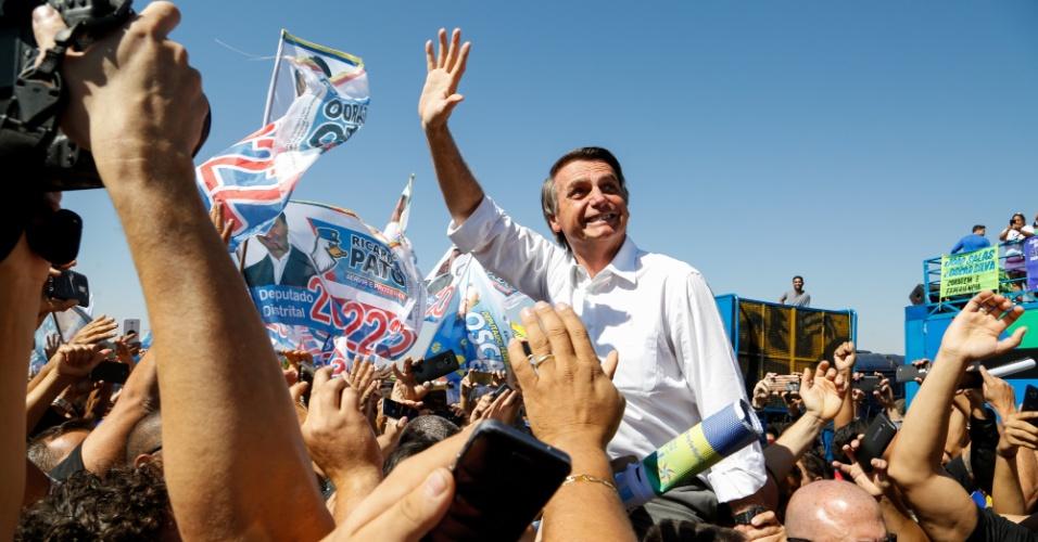 Resultado de imagem para Eleitor de Bolsonaro fica mais fiel na reta final