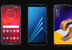 Moto Z3 Play, Galaxy A8+, Zenfone 5: qual tem a melhor bateria? (Foto: Arte/UOL)