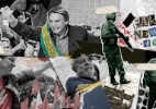 Lula preso, facada em Bolsonaro, fake news: relembre os fatos que marcaram as eleições de 2018 - Arte UOL