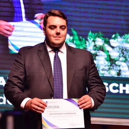 O deputado federal Felipe Francischini (PSL-PR) - Reprodução/Facebook