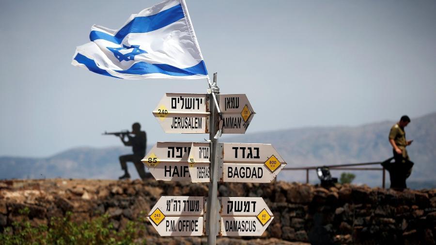 As colinas de Golã têm significado político e estratégico - Reuters