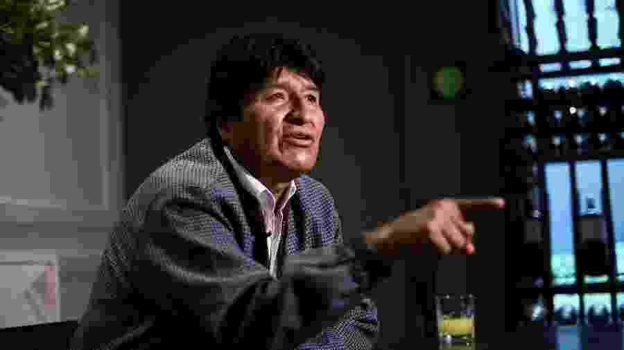 16.nov.19 - Evo Morales concede entrevista na Cidade do México, onde está exilado deste 12 de novembro  - Edgard Garrido/Reuters