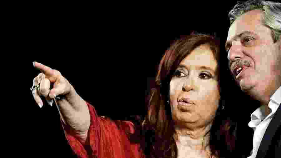 Cristina Kirchner e Alberto Fernández: ex-presidente passou a vice, na chapa encabeçada por seu ex-chefe de gabinete - Getty Images