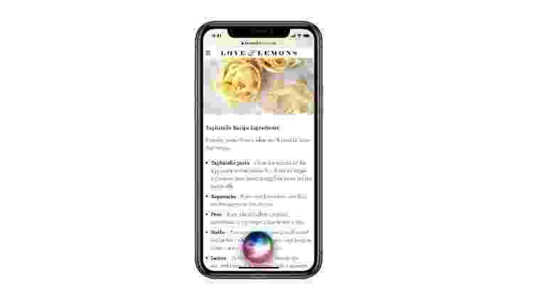 iOS 14: a assistente Siri foi redesenhada para permitir que os usuários permaneçam no contexto do que estão pesquisando - Divulgação - Divulgação