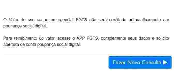 Site FGTS 3 - Reprodução - Reprodução