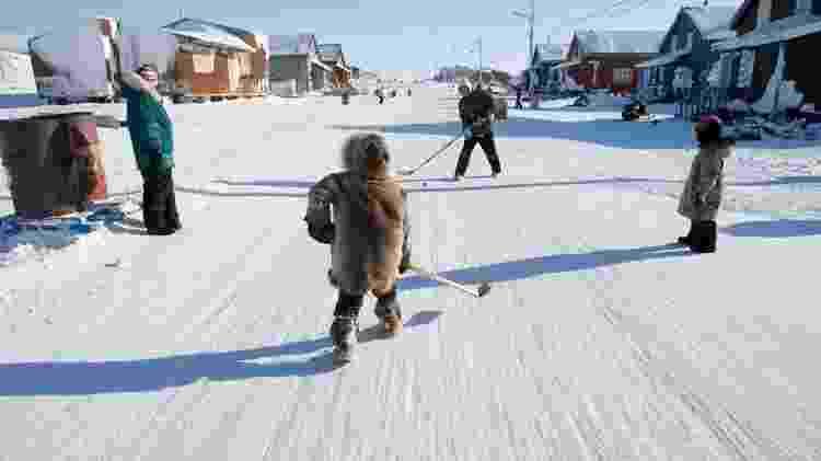 Muitas comunidades inuítes, em Nunavut e em outros lugares, correm um risco muito maior de infecções - Getty Images - Getty Images