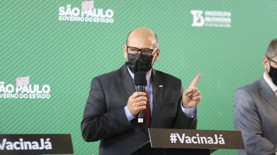 Dimas Covas, diretor do Butantan, prevê vacinação anual contra covid-19 - Divulgação
