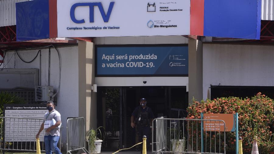 Complexo Tecnológico de Vacinas da Fiocruz em Manguinhos - Tomaz Silva/Agência Brasil