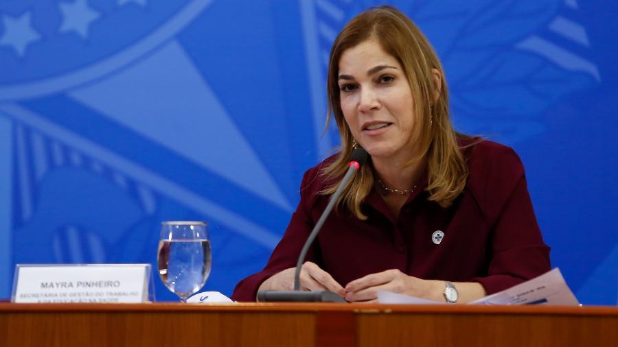 Mayra Pinheiro, Secretária de Gestão do Trabalho e da Educação na Saúde do Ministério da Saúde - Anderson Riedel/PR