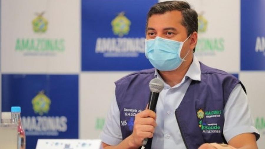 Governador do Amazonas, Wilson Lima, obteve no STF o direito de não comparecer à CPI da Covid - Diego Peres/Secom-AM