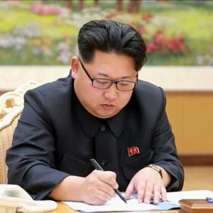 """Nova resolução seria """"a mais dura até agora"""" contra o regime norte-coreano - Yonhap/North Korean TV/AFP"""