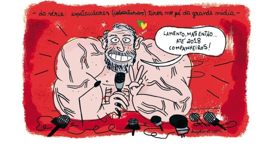 6.mar.2016 - Lula 2018: o que não mata, te fortalece