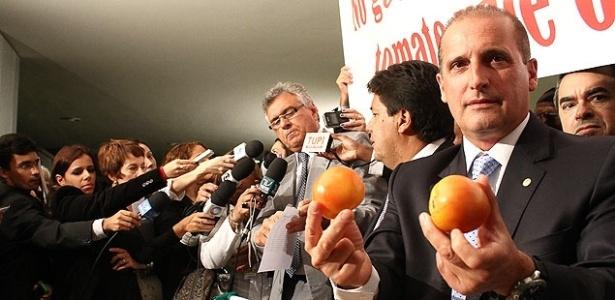 Relator do pacote das medidas de combate à corrupção, deputado Onyx Lorenzoni (DEM-RS) - André Borges - 10.abr.2013/Folhapress