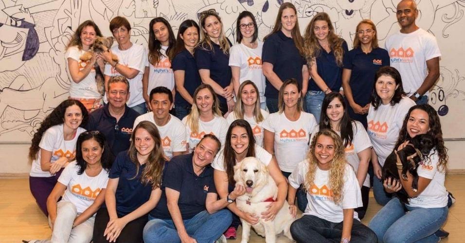 A franquia My Pet's Nanny foi criada pela empresária e veterinária Andressa Gontijo e oferece serviços de pet sitter (babá de animal de estimação), dog walker (passeador de cachorro) e hospedagem domiciliar