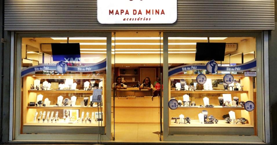 Franquia Mapa da Mina