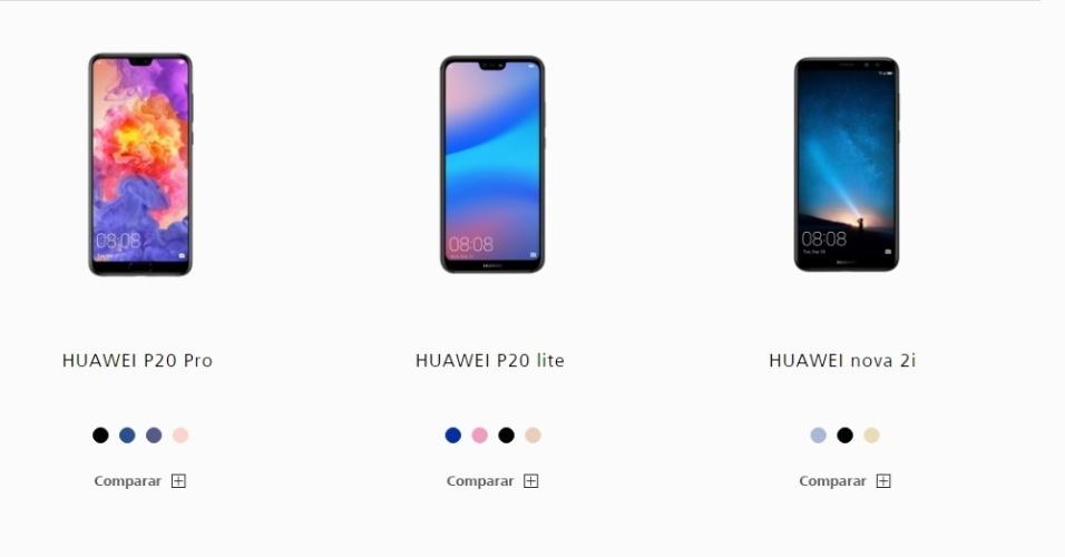 Ainda sem preços | Veja os celulares da Huawei que podem chegar ao Brasil
