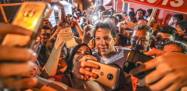 02.set.2018 - Fernando Haddad chega a Maceió para campanha