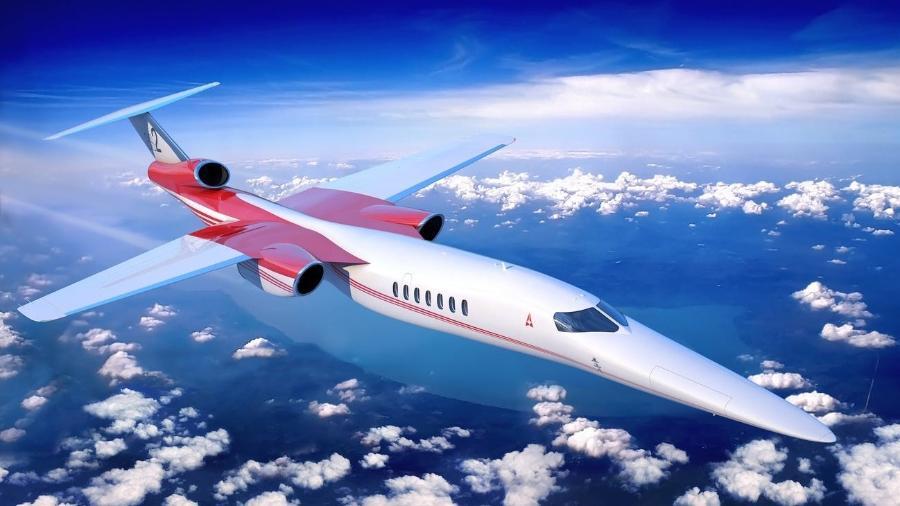 Aerion AS2 é um projeto de avião executivo supersônico - Divulgação