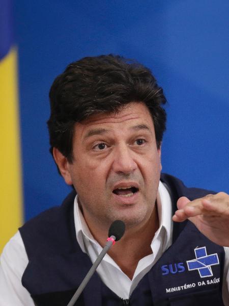O ex-ministro da Saúde Luiz Henrique Mandetta - DIDA SAMPAIO/ESTADÃO CONTEÚDO