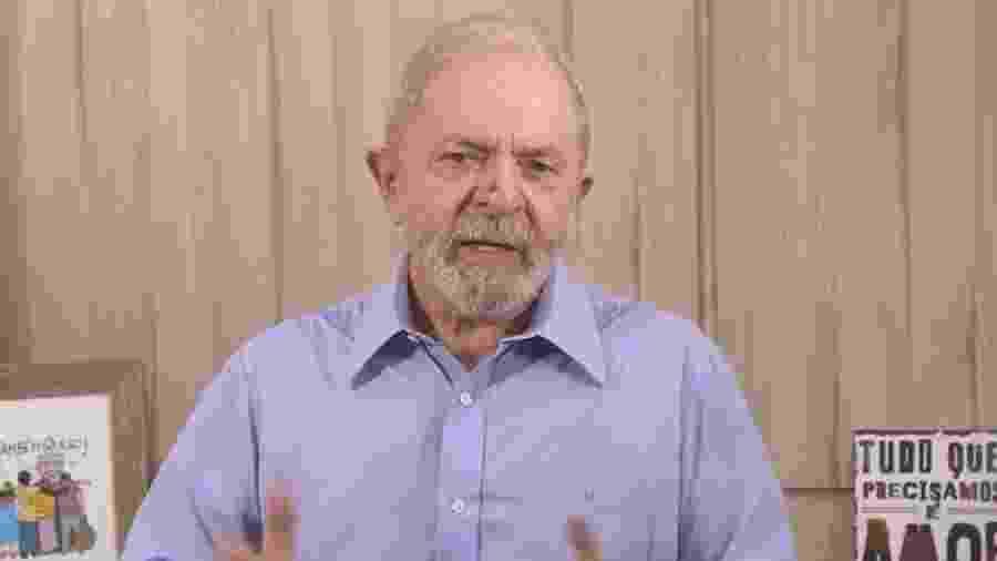 """Lula diz que Bolsonaro já cometeu """"muitos crimes de responsabilidade"""" e """"merece ser punido por isso"""" - Reprodução"""