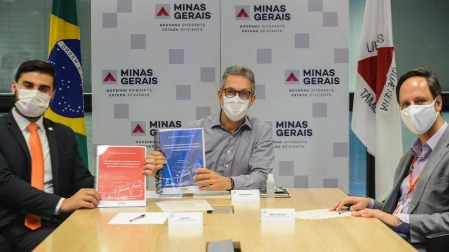 Romeu Zema tem dificuldade para conseguir a privatização da Cemig - Divulgação/Governo de Minas Gerais