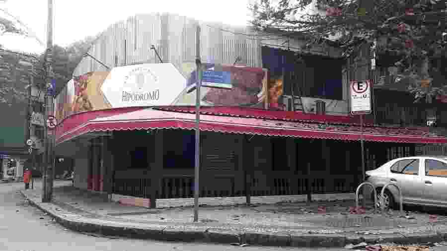 Restaurante Hipódromo, no Rio de Janeiro, fechou as portas - Reprodução
