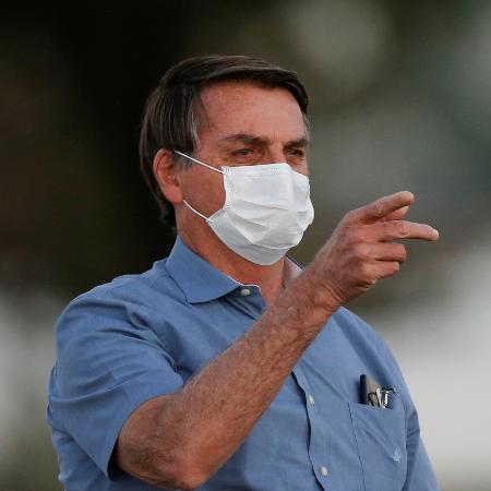 Presidente Jair Bolsonaro falou querespeitará o teto de gastos - ADRIANO MACHADO