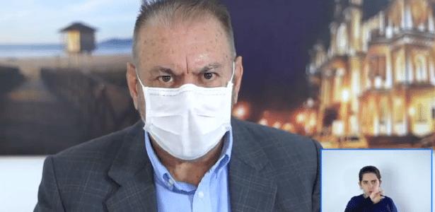 Prefeito de Itajaí (SC) quer tratar covid-19 com aplicação retal de ozônio – UOL Notícias