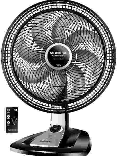 Ventilador Turbo 8 Pás Control 3 Velocidades, VTX-40-8P-CR - Mondial - Reprodução/Amazon - Reprodução/Amazon