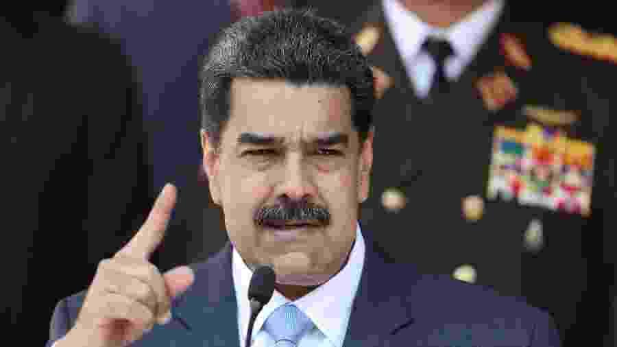 Presidente da Venezuela, Nicolás Maduro - Manaure Quintero