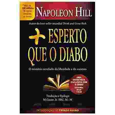 5º - Mais esperto que o Diabo: O mistério revelado da liberdade e do sucesso (Napoleon Hill) - Citadel - Reprodução/Amazon - Reprodução/Amazon