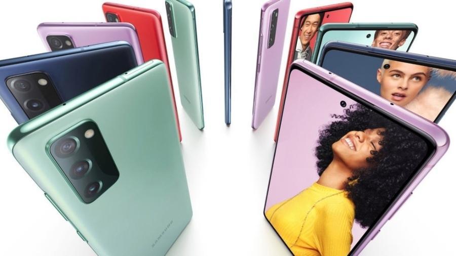 Galaxy S20 Fan Edition, um dos últimos lançamentos da linha Galaxy S - Reprodução