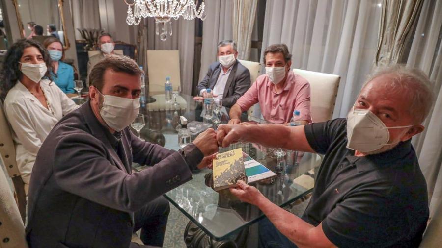 Lula tem se reunido com políticos em Brasília - Divugação/Ricardo Stuckert