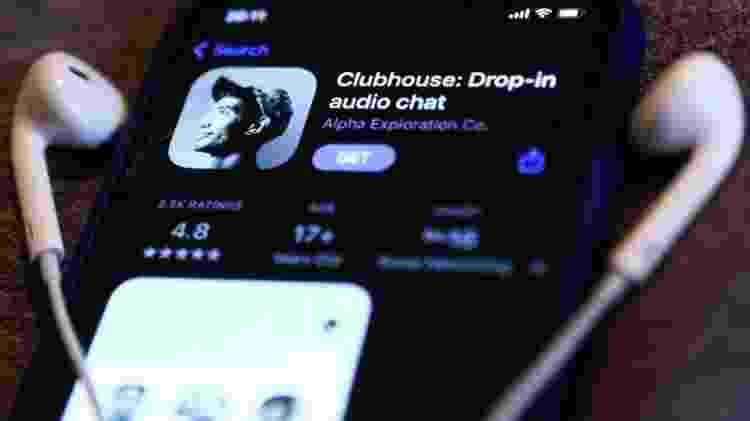 Dados de 1,3 milhão de perfis de usuários foram obtidos do Clubhouse por meio de raspagem - Nurphoto - Nurphoto