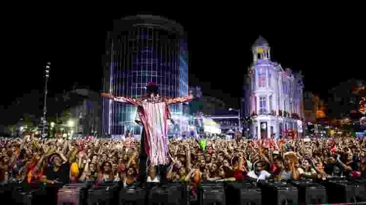 Carnaval da capital pernambucana ocorre principalmente no bairro do Recife Antigo - Brenda Alcântara/Prefeitura do Recife - Brenda Alcântara/Prefeitura do Recife