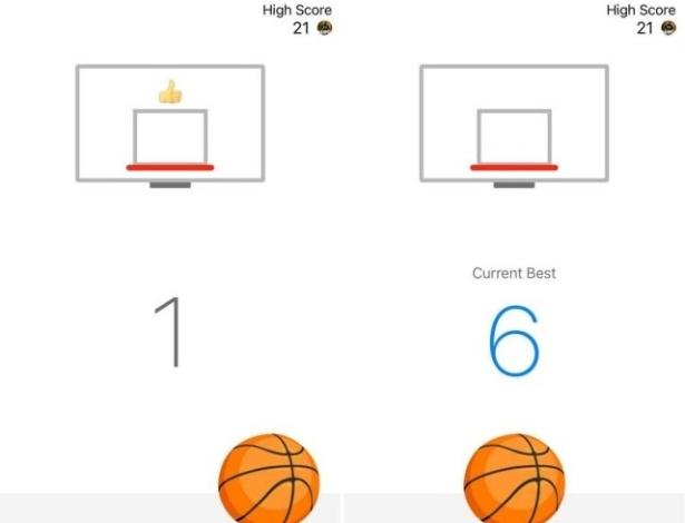 Facebook Messenger lança jogo de basquete
