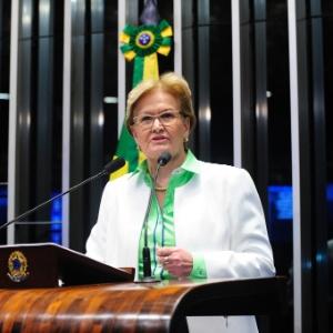 A senadora Ana Amélia Lemos (PP-RS) votou a favor do impeachment