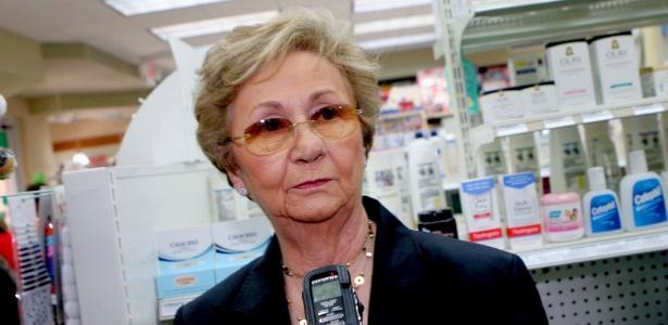 26.out.2009 - Juanita Castro, irmã de Fidel, em Miami (Flórida)