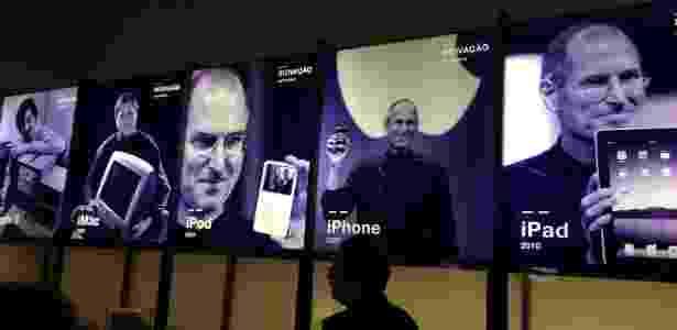 """""""Steve Jobs, o Visionário"""" é a nova mostra em exposição no MIS - Gabriel Francisco Ribeiro/UOL - Gabriel Francisco Ribeiro/UOL"""
