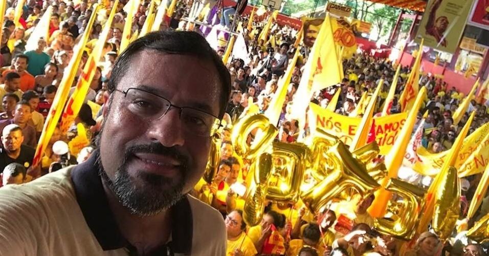 4.ago.2018 - Com cerca de 25 mil votos, Camilo Capiberibe (PSB) foi o líder da votação para deputado federal no Amapá